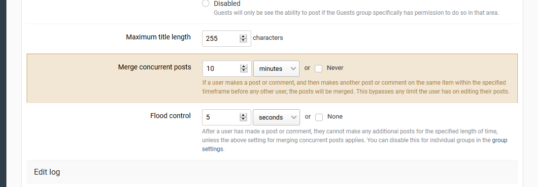 Exclude PMs from Merge Content